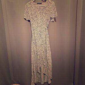 Women's wrap-around dress